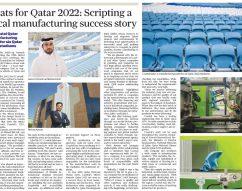 Coastal Qatar manufacturing seats for six Qatar 2022 stadiums